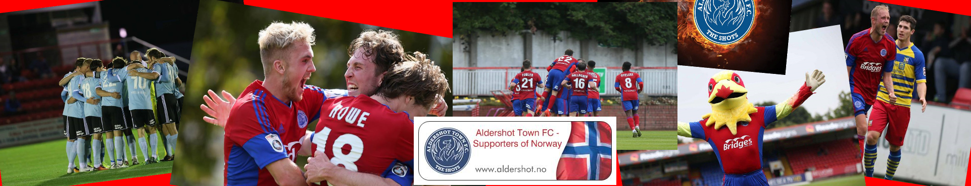 Aldershot Town FC – Supporters of Norway