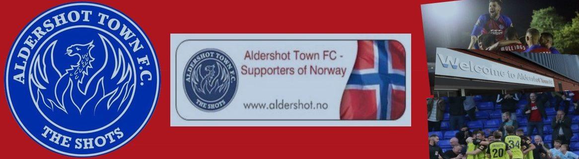 Norsk supporterklubb for Aldershot Town FC